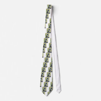 WILLY WAGTAIL RURAL QUEENSLAND AUSTRALIA TIE