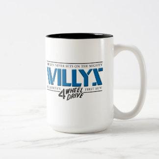 Willys 4WD Blue Mug