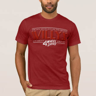Willys 4WD Red Shirt