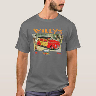 Willys woody wagon T-Shirt