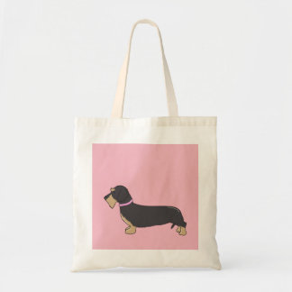 Wilma  the Dachshund  Tote Bag