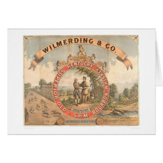 Wilmerding & Co. Kentucky Whiskey (1855A) Greeting Card