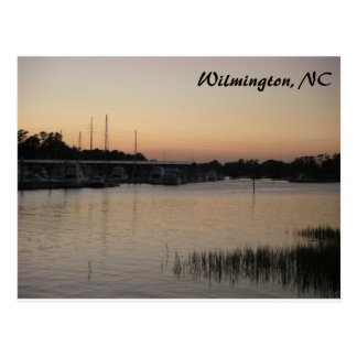 Wilmington Bradley Creek Series Postcard