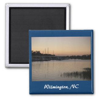 Wilmington Bradley Creek Series Square Magnet