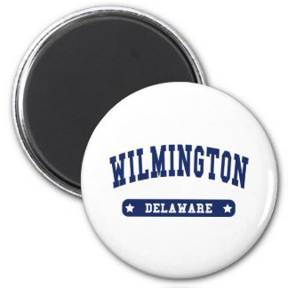 Wilmington Delaware College Style tee shirts 6 Cm Round Magnet