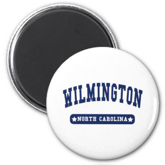 Wilmington North Carolina College Style tee shirts Refrigerator Magnet
