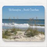 Wilmington, North Carolina Ocean Scene Mousepad