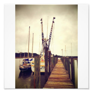 Wilmington Shrimp Boat Photo Print