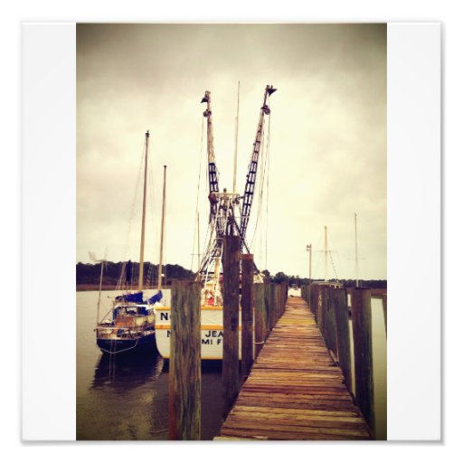 Wilmington Shrimp Boat Photo Print