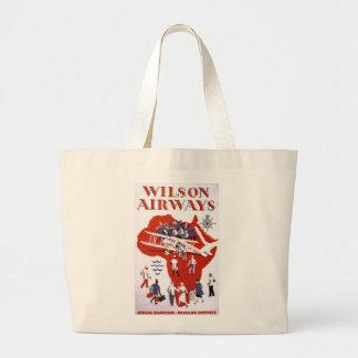 Wilson Airways ~ Africa Canvas Bags