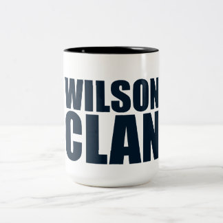 Wilson Clan Two-Tone Coffee Mug
