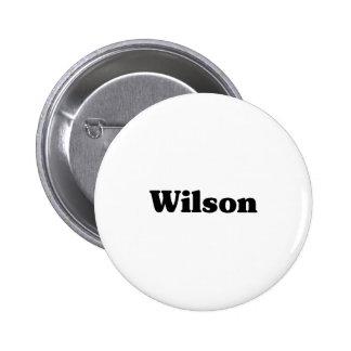 Wilson  Classic t shirts Pinback Buttons