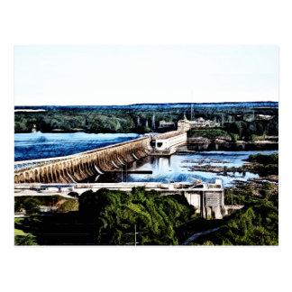 Wilson Dam - Alabama Postcard