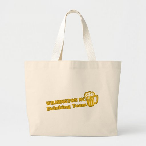 Wilson Drinking Team tee shirts Tote Bags