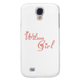 Wilson Girl tee shirts Samsung Galaxy S4 Cases