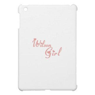 Wilson Girl tee shirts iPad Mini Cases