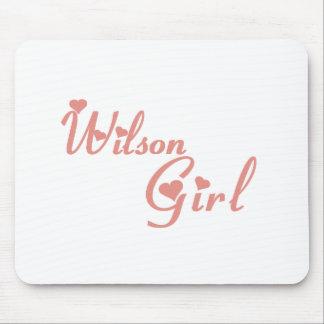 Wilson Girl tee shirts Mouse Pad