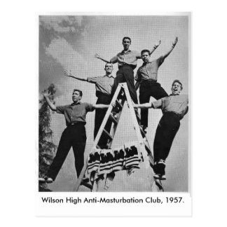 Wilson High Anti-Masturbation Cl... Postcard