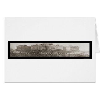 Wilson Inauguration DC Photo 1917 Card