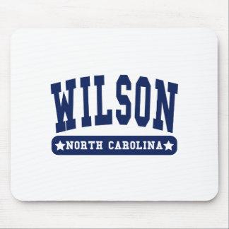 Wilson North Carolina College Style tee shirts Mouse Pad