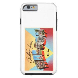 Wilson North Carolina NC Vintage Travel Postcard- Tough iPhone 6 Case