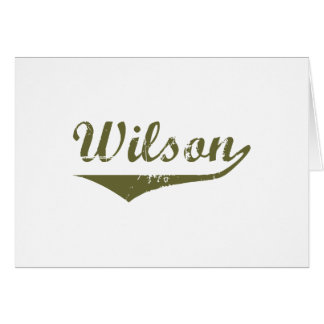 Wilson  Revolution t shirts Greeting Card