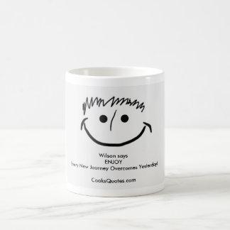 WILSON says Inspirational Mugs ENJOY