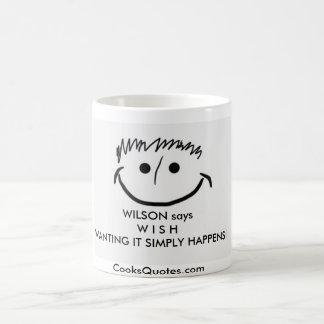 WILSON says Inspirational Mugs W I S H