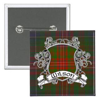 Wilson Tartan Shield 15 Cm Square Badge