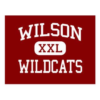 Wilson - Wildcats - High - Hacienda Heights Postcard