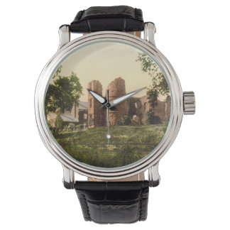Wilton Castle, Ross-on-Wye, Herefordshire, England Wristwatch