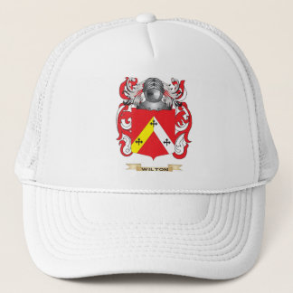 Wilton Family Crest (Coat of Arms) Trucker Hat