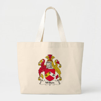 Wilton Family Crest Large Tote Bag