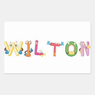 Wilton Sticker