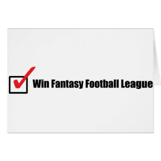 Win Fantasy Football League : Check Card