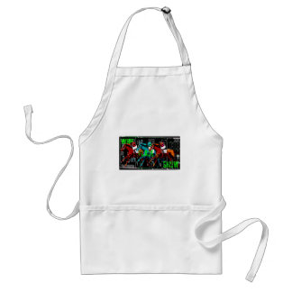 win place show horse racing standard apron