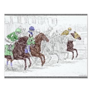 Win Place Show Race Horses Announcement
