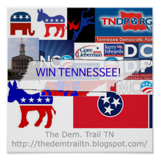 Win Tennessee Collage! Poster