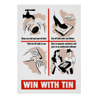 Win With Tin Poster