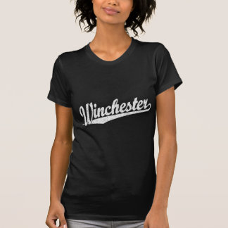 Winchester distressed white T-Shirt