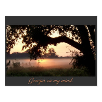 Winchester GA Sunrise Postcard