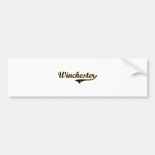 Winchester Missouri Classic Design Bumper Stickers