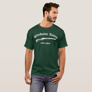 Winchester Tavern - Your Zombie Refuge T-Shirt