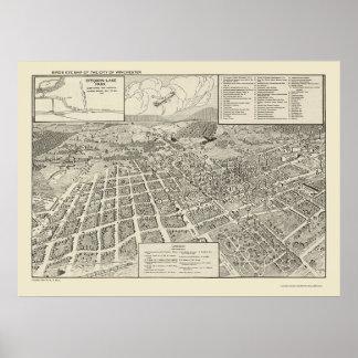 Winchester, VA Panoramic Map - 1926 Poster