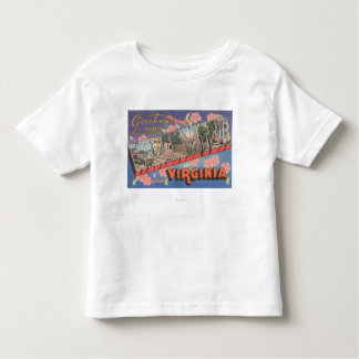 Winchester, Virginia - Large Letter Scenes Toddler T-Shirt