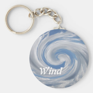 Wind and Clouds Key Chain