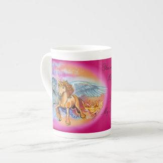 Wind and Flame Pegasus Unicorn~specialty mug