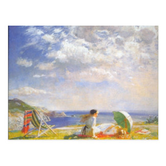 Wind and Sun by Dame Laura Knight Postcard
