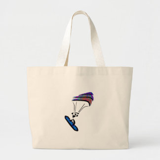 Wind and Wave Large Tote Bag