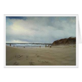 Wind Blown Sand Card